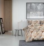Nightlife Fresh Dekbedovertrek Fur Mozaik Taupe