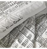 Pierre Cardin Dekbedovertrek I Love Paris Wit