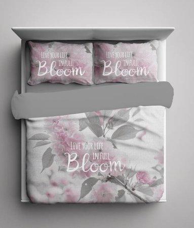 Life in Bloom Grijs