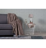 Nightlife Home Woondeken Fleece Taupe