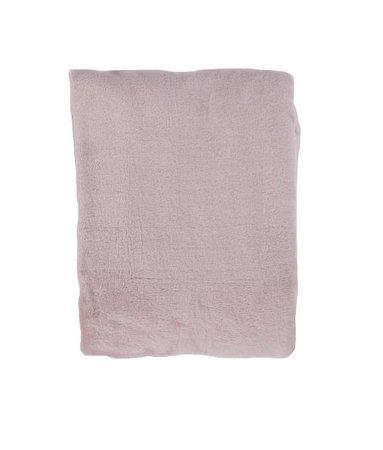 Woondeken Flanel Fleece Poeder Roze