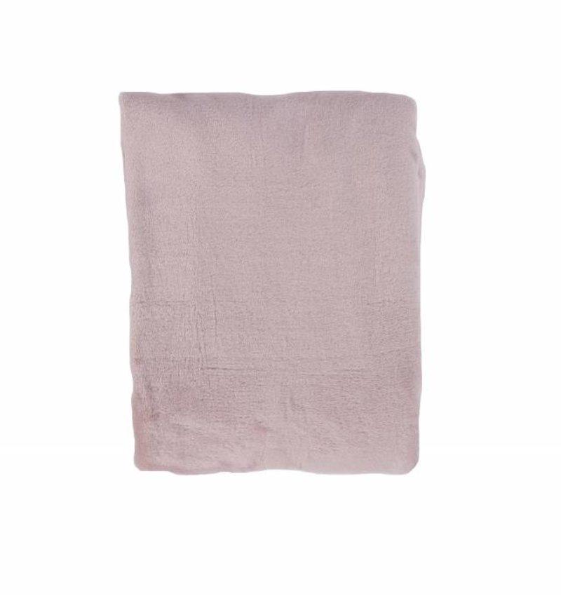 Nightlife Home Woondeken Fleece Poeder Roze