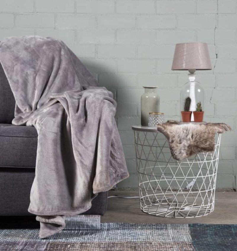 Nightlife Home Woondeken Fleece Grijs