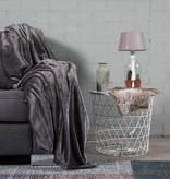 Nightlife Home Woondeken Fleece Antraciet