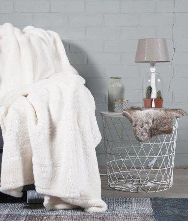 Woondeken Fluffy Ecru 150x200