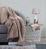 Nightlife Home Woondeken Fluffy Taupe 150x200
