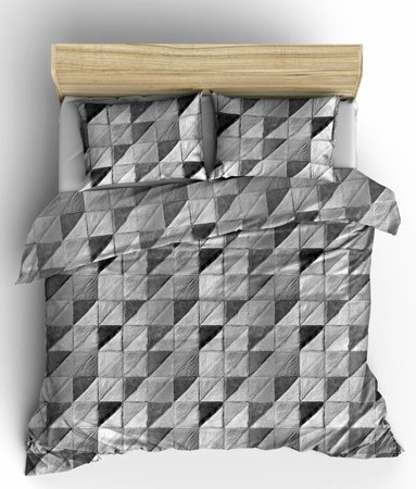 Fur Mozaik Grijs Flanel