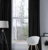 Nightlife Home Licht Verduisteringsgordijn Haken Zwart