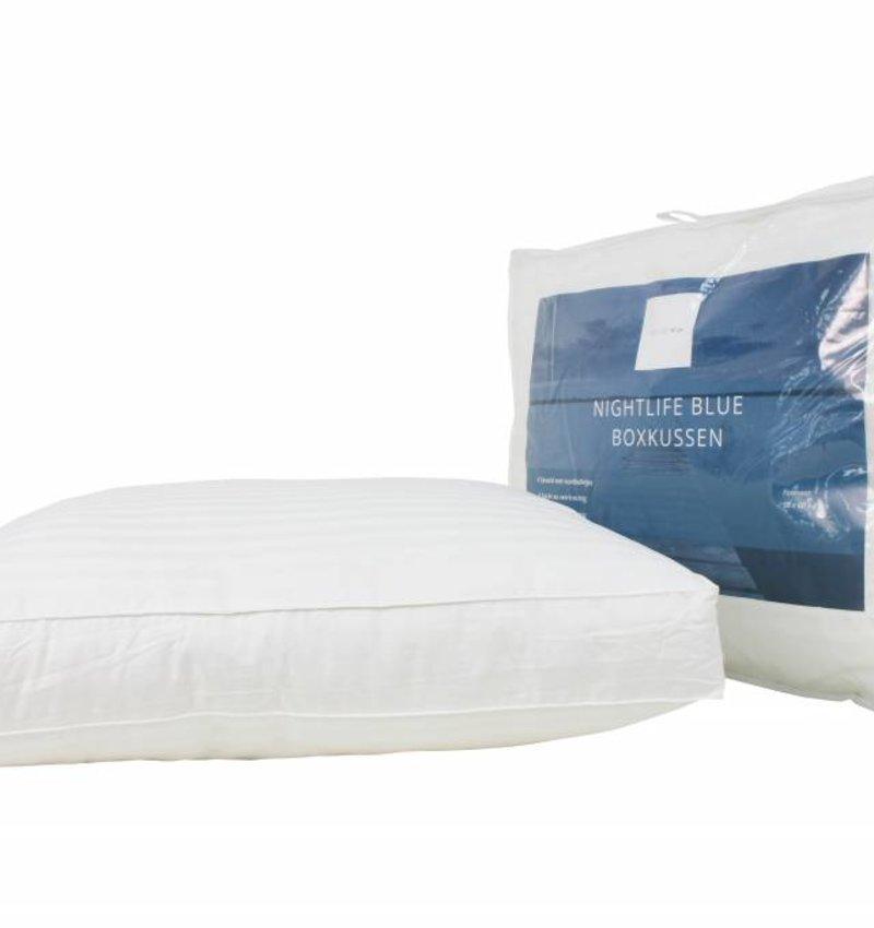 Nightlife Blue Box Hoofdkussen Nightlife Blue Comfort