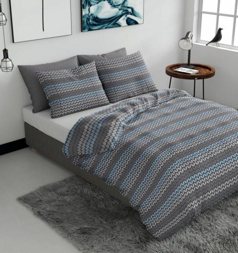 Nightlife Wake Up Dekbedovertrek Knit effect