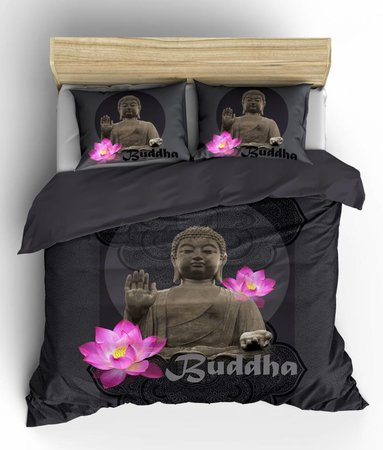 Buddha Antraciet