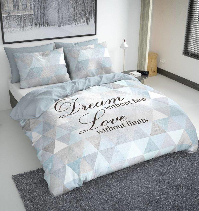 Nightlife Blue Dekbedovertrek Dream Blue