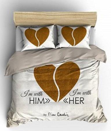 Him / Her Ecru Goud