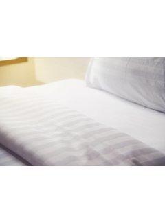 Nightlife Concept Dekbedovertrek Hotel Stripe Wit 240x200/220
