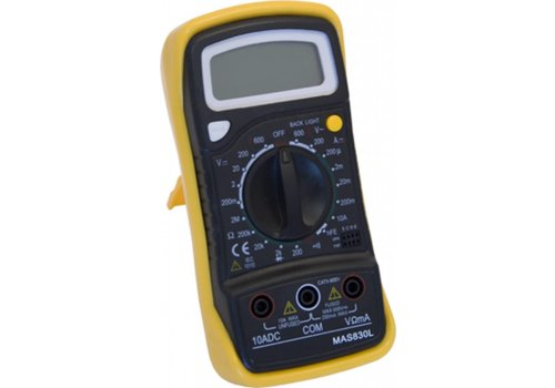 Ironside Multimeter digitaal