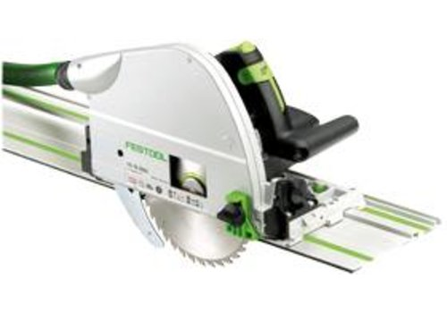 Festool TS 75 EBQ Plus FS Invalzaag met liniaal van 1400mm