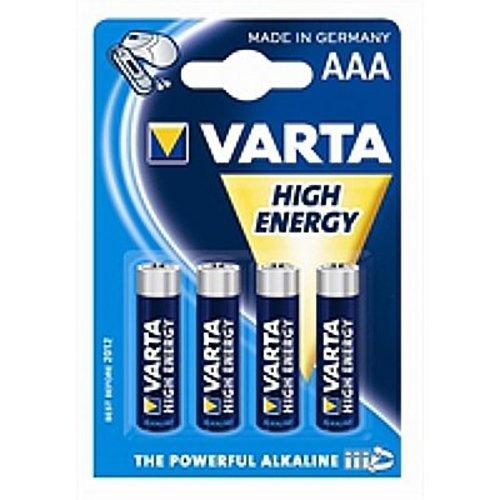 VARTA High Energy Alkaline AAA 4x blister