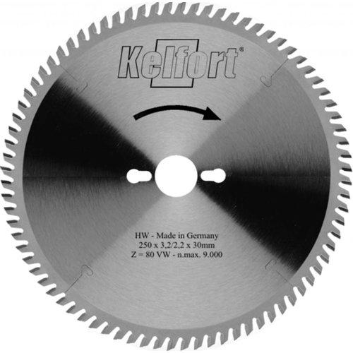 Kelfort Cirkelzaagblad 250mm W 80 tanden