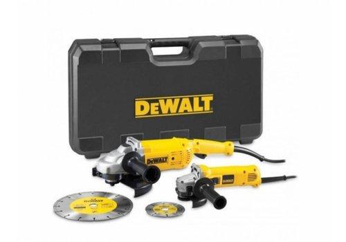 DeWalt DWE492SDT-QS Voordeelset 125/230mm haakse slijper