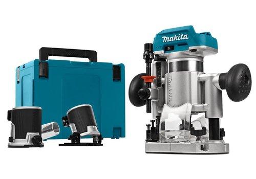 Makita DRT50ZJX2 18 V Boven- en kantenfrees