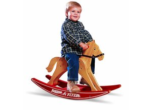 Radio Flyer Classic Wood Rocking Horse