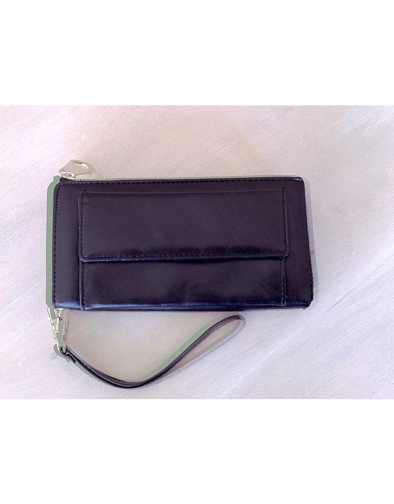 Smartphone portemonnee Zwart
