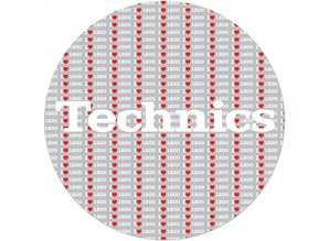 Technics 1200 Love Slipmats, proffessional quality by Magma