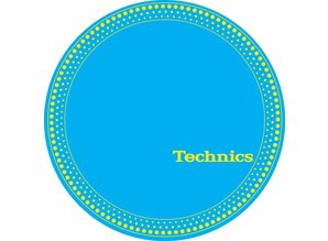 Technics Ring Blue Slipmats, proffessional quality by Magma