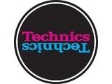 Technics Mirror Purple/Blue on Black slipmatten