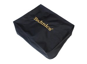Black/Gold Deck Cover for Technics SL1200 or similar size turntable