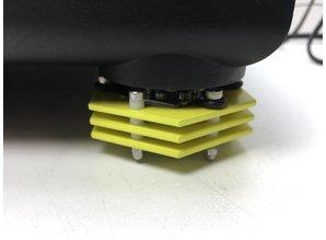 Technics SL 1210 MK2 customised turntable + Ortofon Concorde Nightclub cartridge