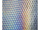 0100-032 black, dbl-rol, irid, patterned 3 mm