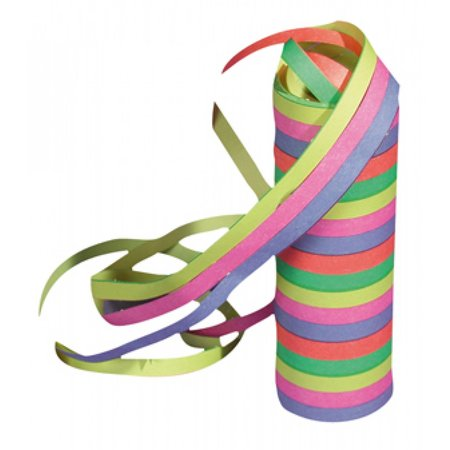 Rol Serpentines 5 kleuren 4 m