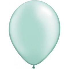 Licht groene metallic ballonnen