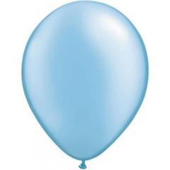Ballon Parelmoer Blauw