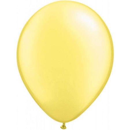 Citroengeel metallic ballonnen online kopen