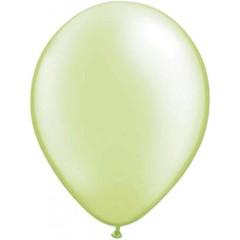 Ballon Parelmoer Limoengroen