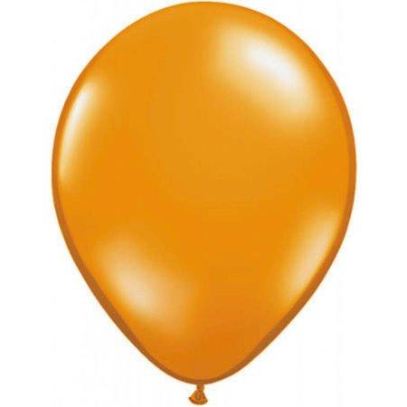 Oranje metallic ballonnen online kopen