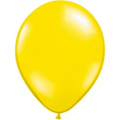 Gele metallic ballonnen
