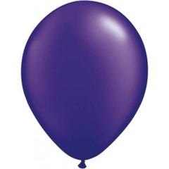 Donkerpaarse metallic ballonnen