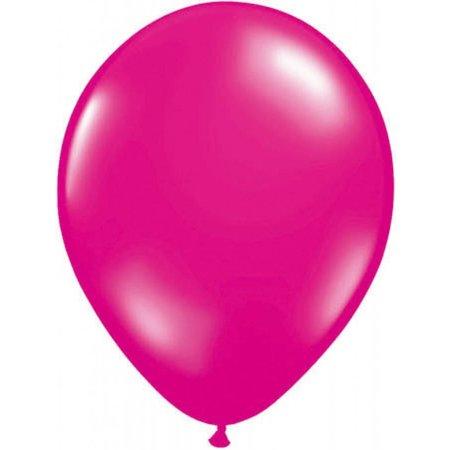 Donkerroze metallic ballonnen online kopen