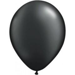 Zwarte metallic ballonnen