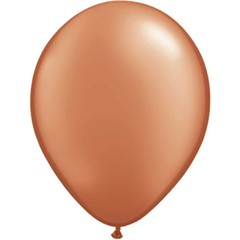 Bruine metallic ballonnen