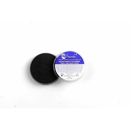 Aqua Face- And Body Paint 16 Gram zwart