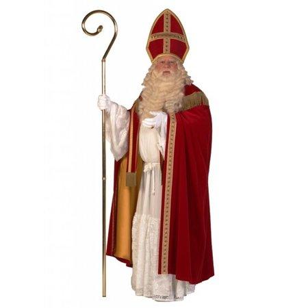 Sint fluweel met cape