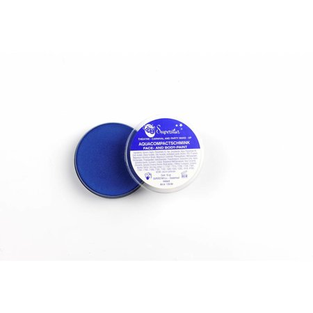Aqua Face- And Body Paint 16 Gram Kobaltblauw