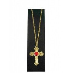 Sint kruis metaal goud