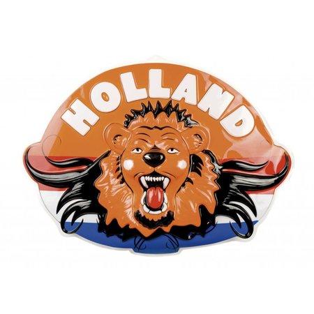 Wanddecoratie Leeuwenkop Holland