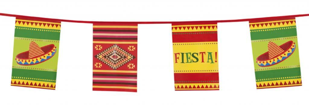 Vlaggenlijn mexicaanse fiesta - Decoration mexicaine a imprimer ...