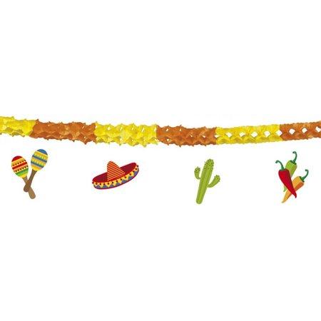 Slinger Mexicaanse Fiesta m. onderhanger (4m.)
